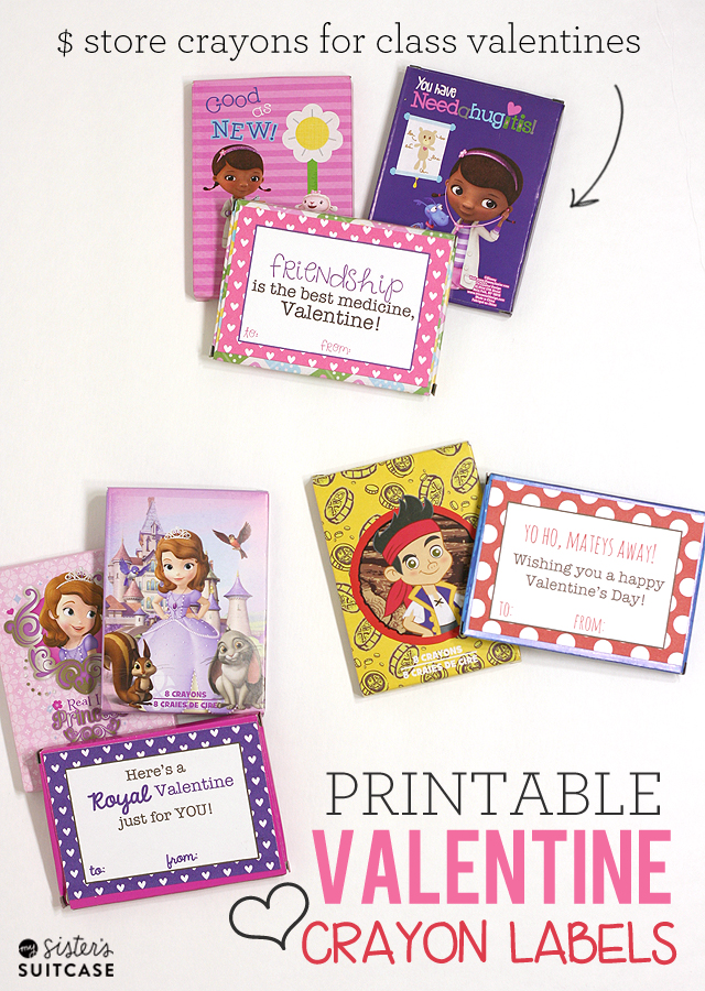 10 Dollar Store Valentines Printables Boys Girls and Class – Class Valentines Cards
