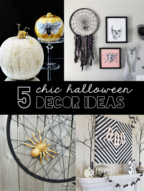 chic halloween decor ideas