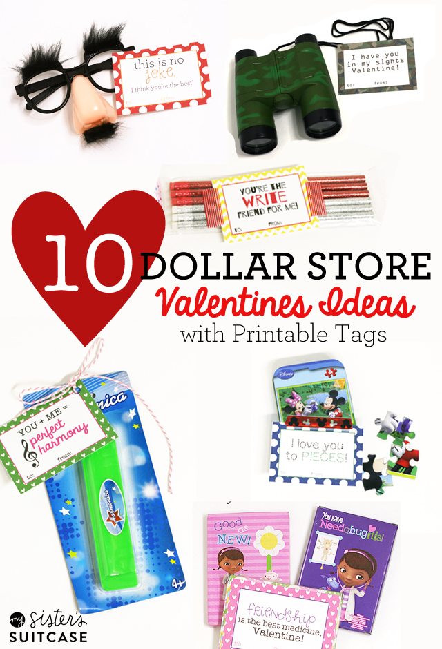 ive created a printable tag for each little gift and made sure to include ideas for girls boys and classroom valentines