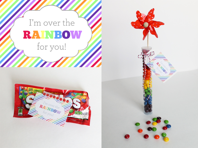 DIY Rainbow Treats & Printables for Spring! - My Sister's Suitcase - Packed with Creativity