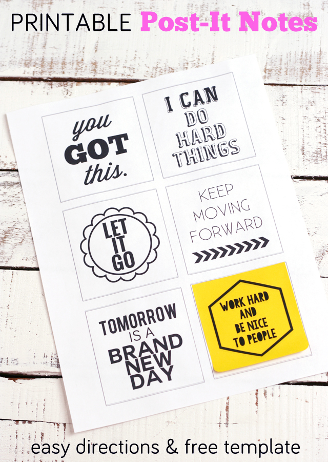 post it note printables you got this my sister s suitcase