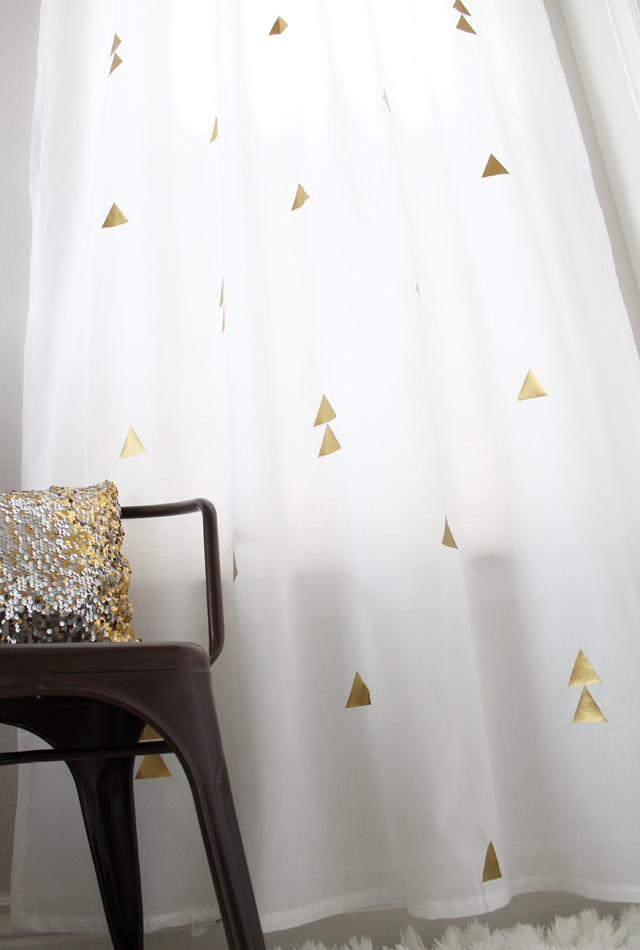 I Used The VIVAN Curtains From IKEA Which Are Only 999 A Pair This Is Perfect Way To Experiment With Design