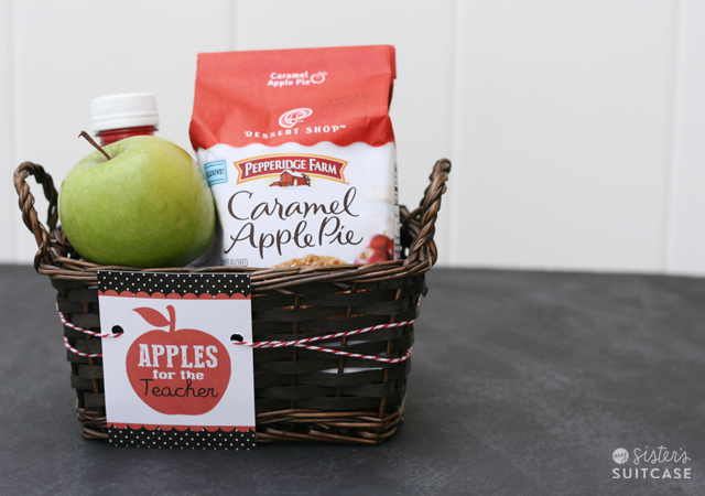 apples for teacher gift