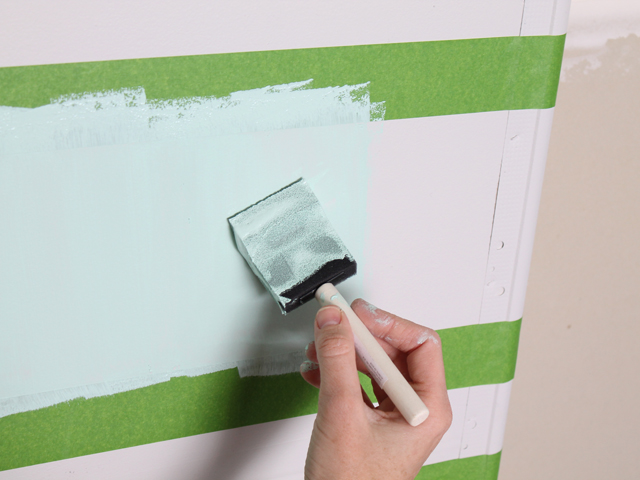 painting stripes