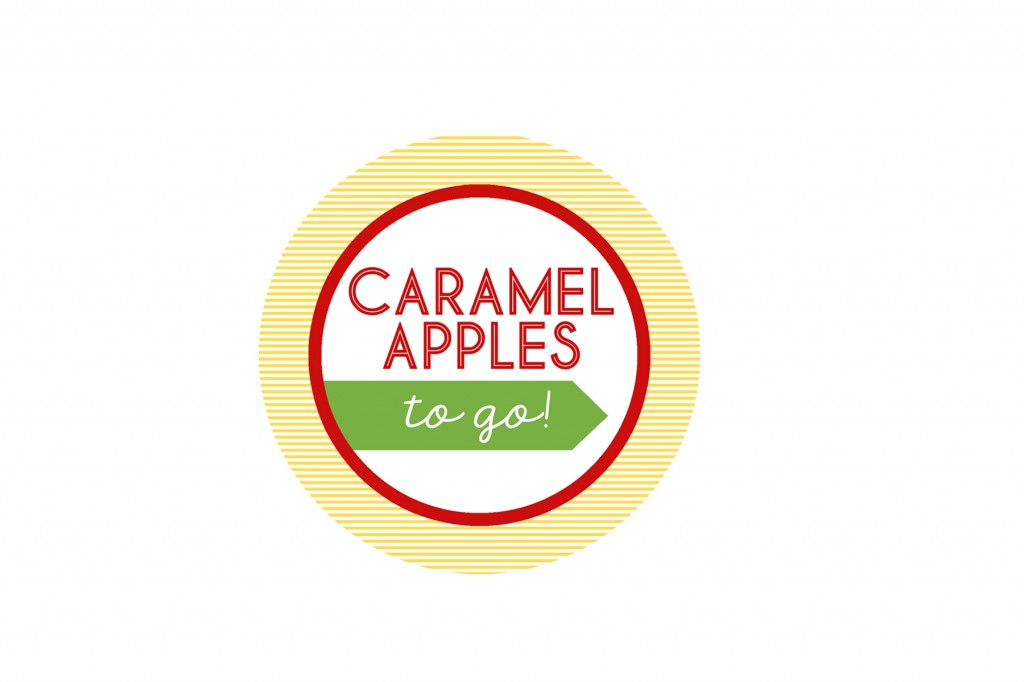 caramel apple tag printable