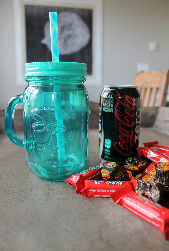 drink and candy