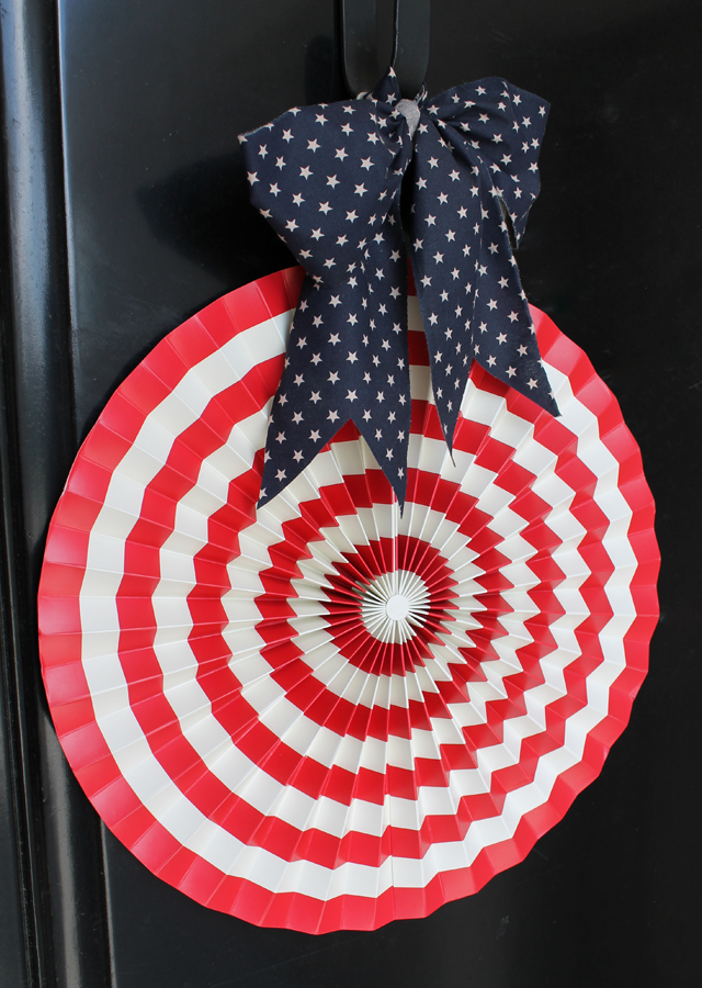 stars and stripes door decor