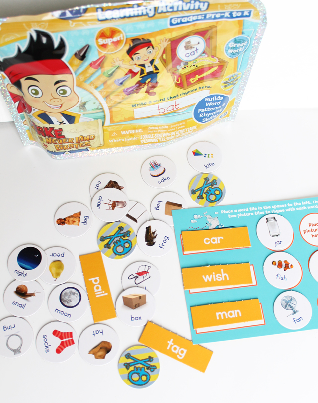 Jake and the Neverland Pirates rhyming activity1