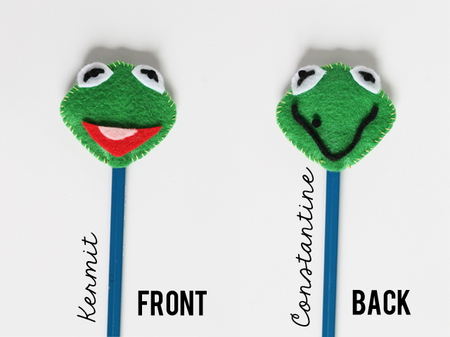 Kermit_Constantine_felt_pencil_topper