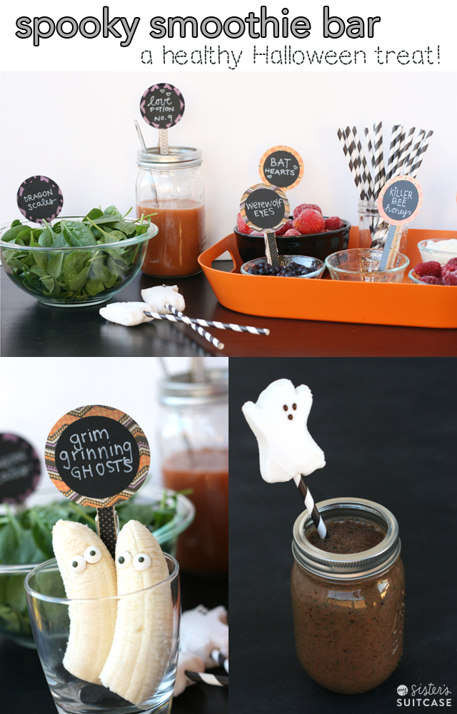 spooky-Halloween-smoothie-bar-for-kids