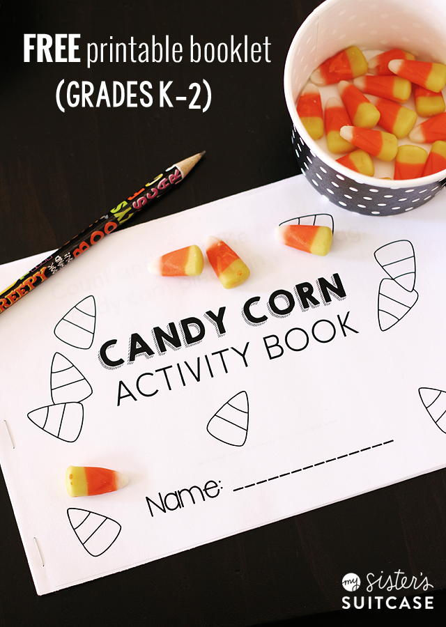 Printable Candy Corn Math Activities - My Sister\'s Suitcase - Packed ...