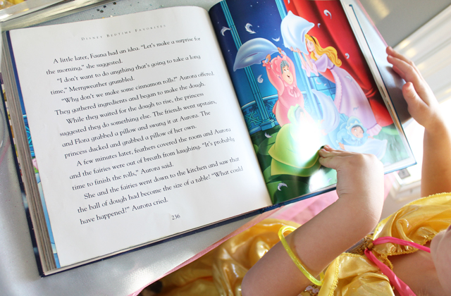 reading the story