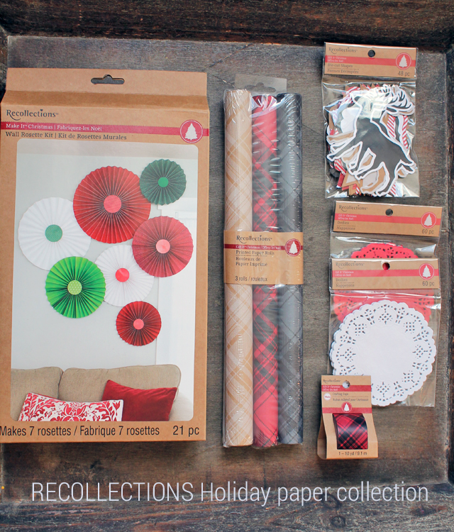 Recollections Holiday paper collection
