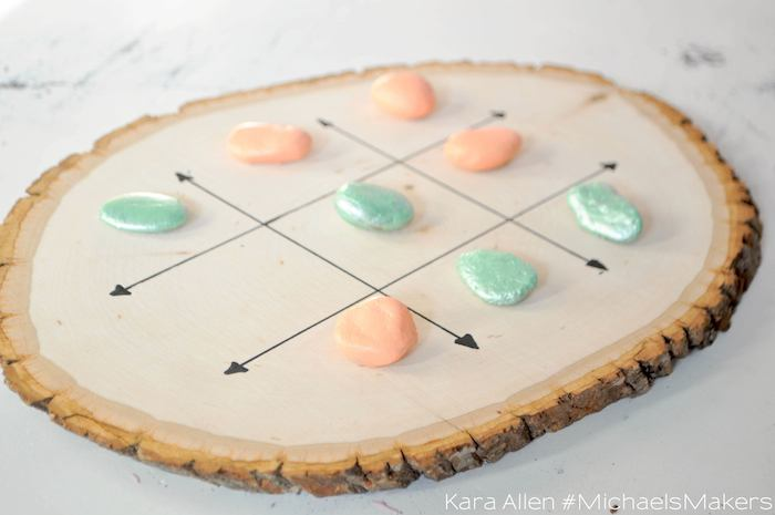 Tic-Tac-Toe-Camp-Craft-Party-Idea-via-Kara-Allen-KarasPartyIdeas.com-Michaels-Maker-MichaelsMakers-3