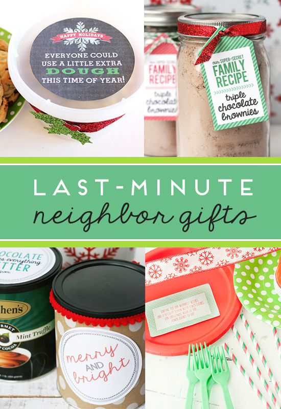 last minute neighbor gift ideas