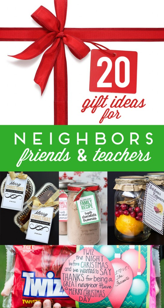 neighbor and teacher gift ideas