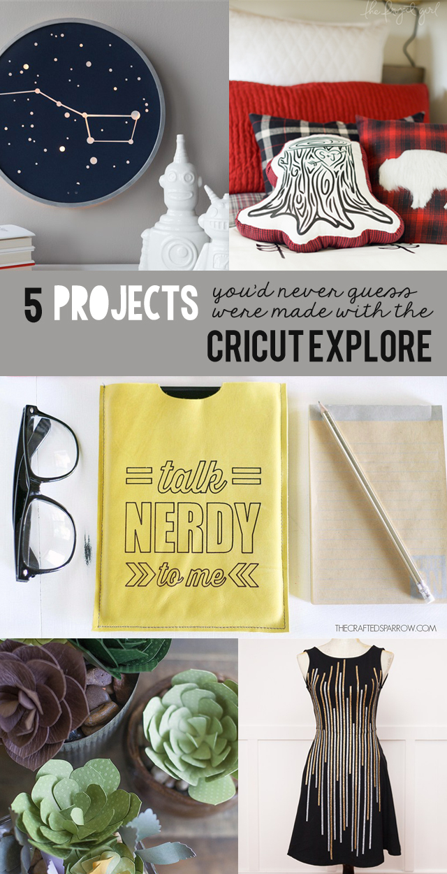5 Things You D Never Guess Were Made With The Cricut Explore 100 Giveaway My Sister S Suitcase Packed With Creativity