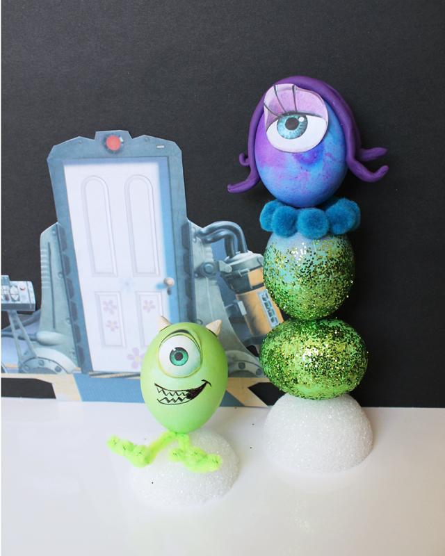 Monsters Inc Easter Eggs