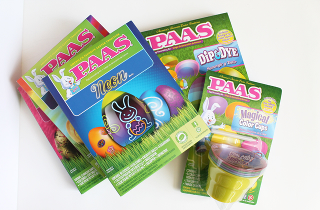 PAAS Easter Egg dyeing kits