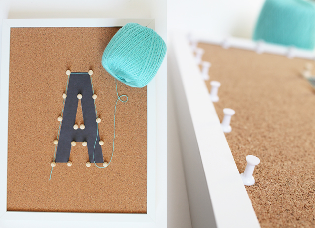 adding push pins