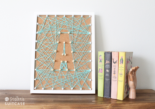 monogram string art