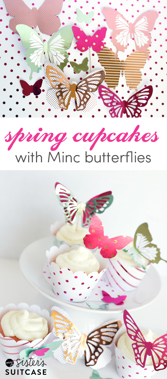 sprinc-cupcakes-with-Minc-butterflies