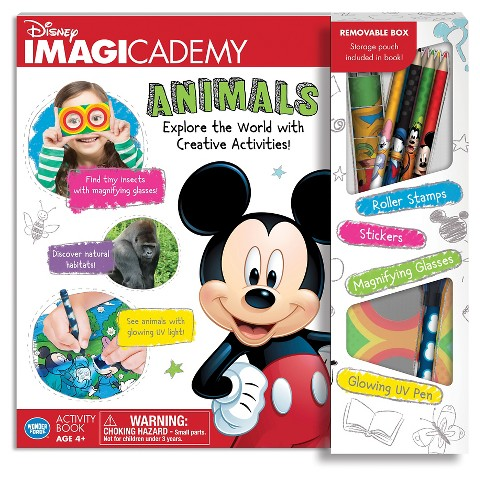 Disney Imagicademy Animals Activity Book1