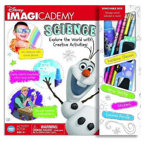 Disney Imagicademy Science book_Frozen