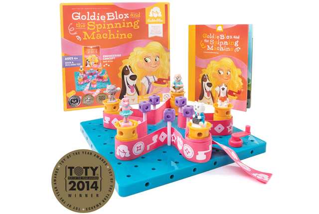 Goldiblox engineering toys