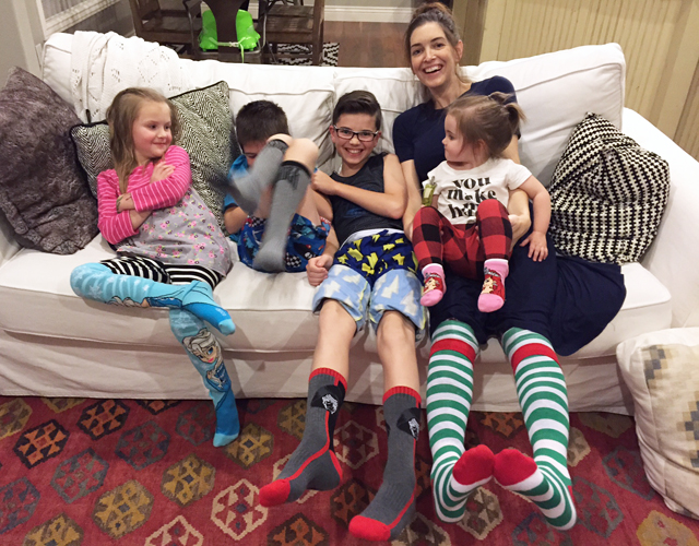 Group pic Sock Party