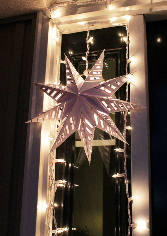 Paper star light