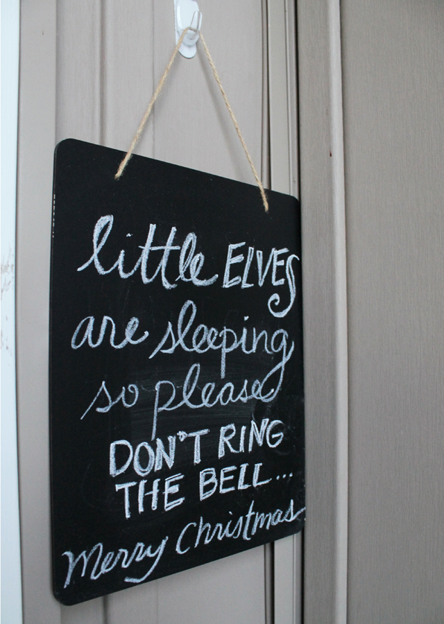 little elves sign