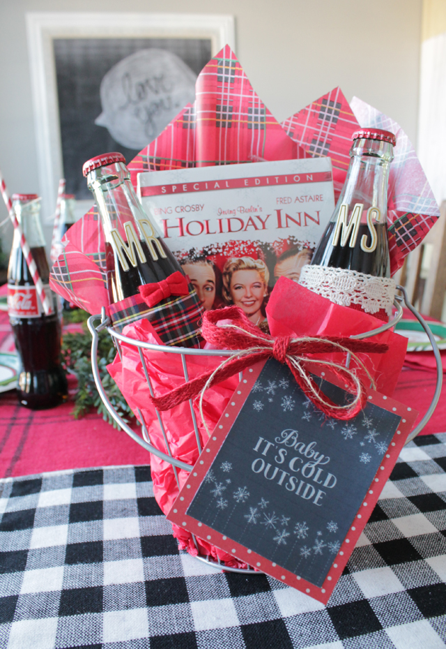 movie night basket gift