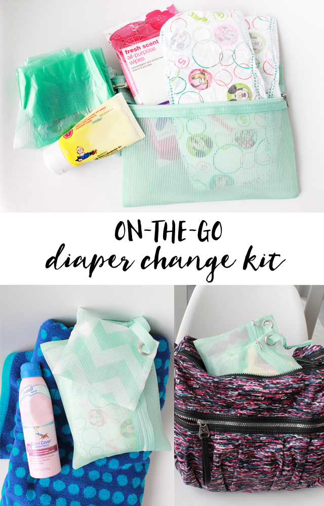Contents of diaper kit