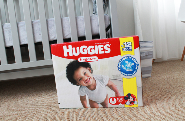 Huggies Sung and Dry
