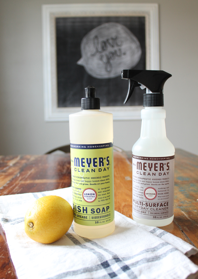 Lemon Verbana dishsoap_lavender cleaner