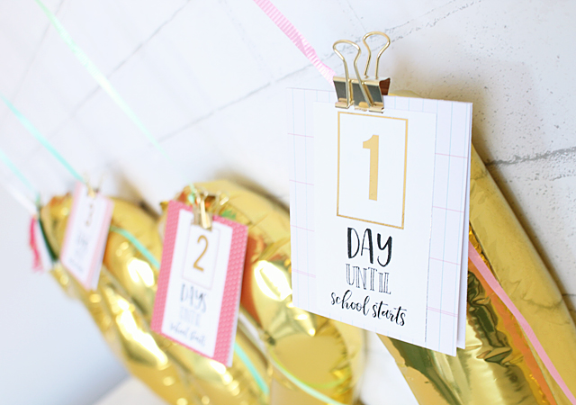Countdown tags