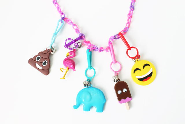 potty training charm necklace